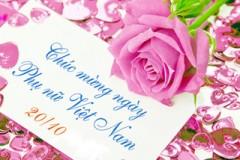 Chúc mừng ngày Phụ nữ Việt Nam 20.10