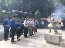 Dâng hương kỷ niệm 72  năm ngày thương binh liệt sĩ